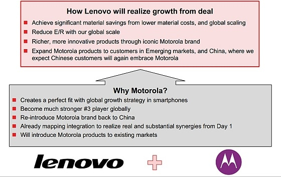 motorola lenovo strategia