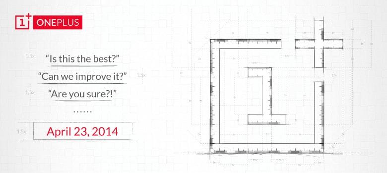 OnePlus One sarà presentato il prossimo 23 aprile
