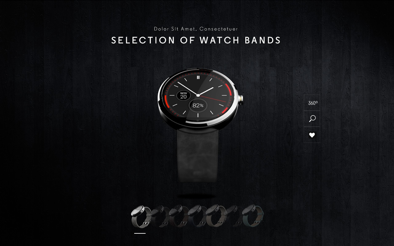Motorola Moto 360 si mostra con nuovi cinturini (foto)