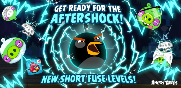 Angry Birds Update AfterShock