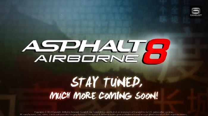 Asphalt 8 Airborne Update Header