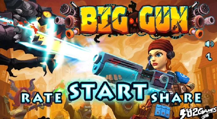 Big Gun: un nuovo survival shooter free-to-play disponibile sul Play Store (foto e video)