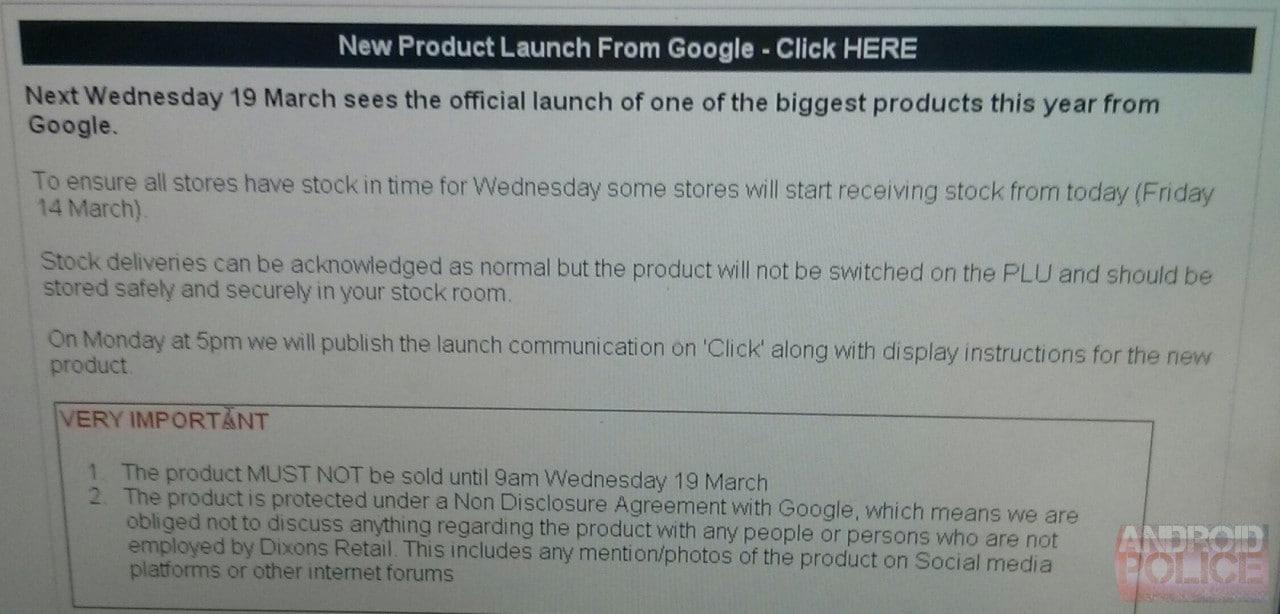 Chromecast verrà commercializzato a partire dal 19 marzo in Europa?