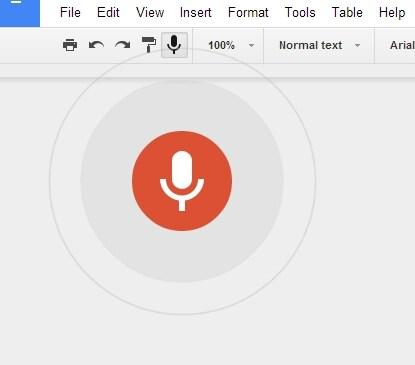 La dettatura vocale arriverà su Google Drive (foto)