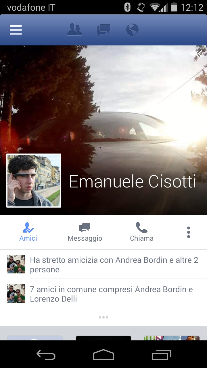 Facebook aggiorna l'interfaccia del profilo personale nella beta senza alcun aggiornamento