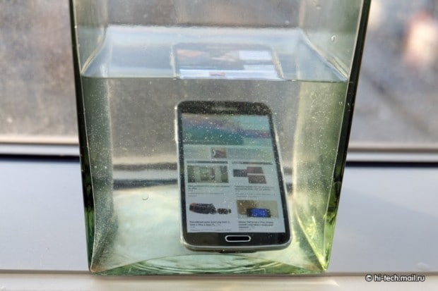 Galaxy S5 immerso 7