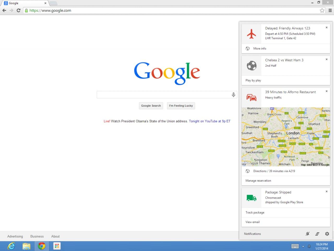 Google Now arriva finalmente su Chrome per Windows e Mac a partire da oggi