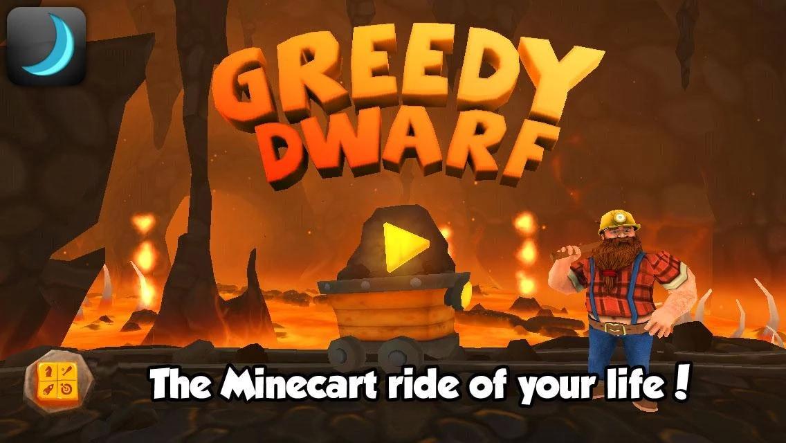 Greedy Dwarf: il running game di Crescent Moon Games è disponibile sul Play Store (foto e video)