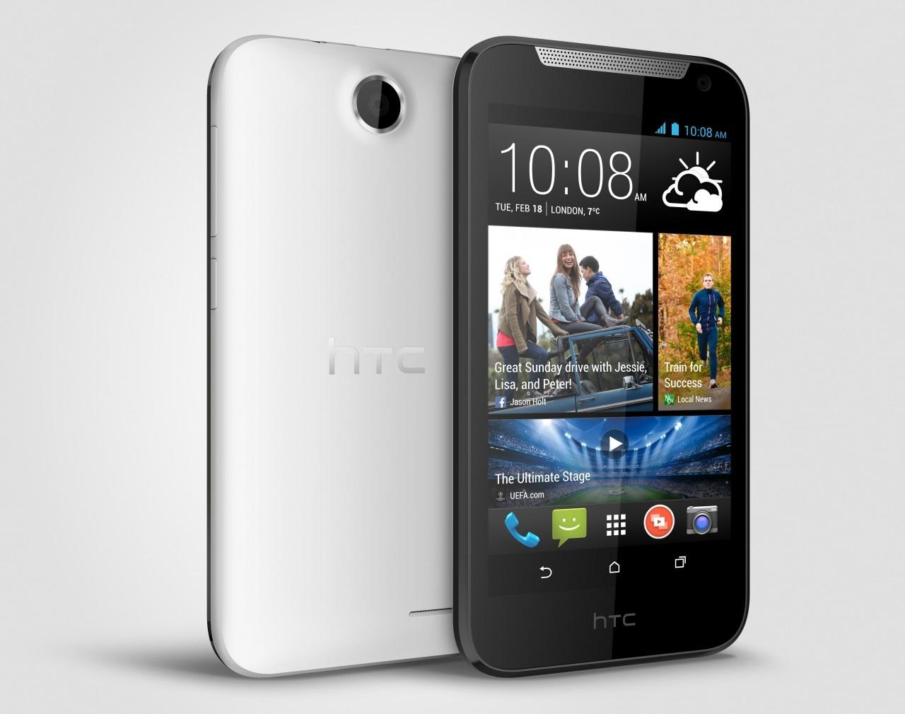 HTC Desire 310 ufficiale: nuovo entry-level con chip Mediatek, da aprile in Italia (foto)