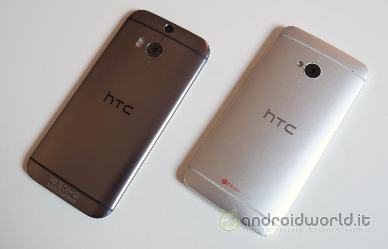 HTC One (M8) vs One (M7): fotocamere a confronto