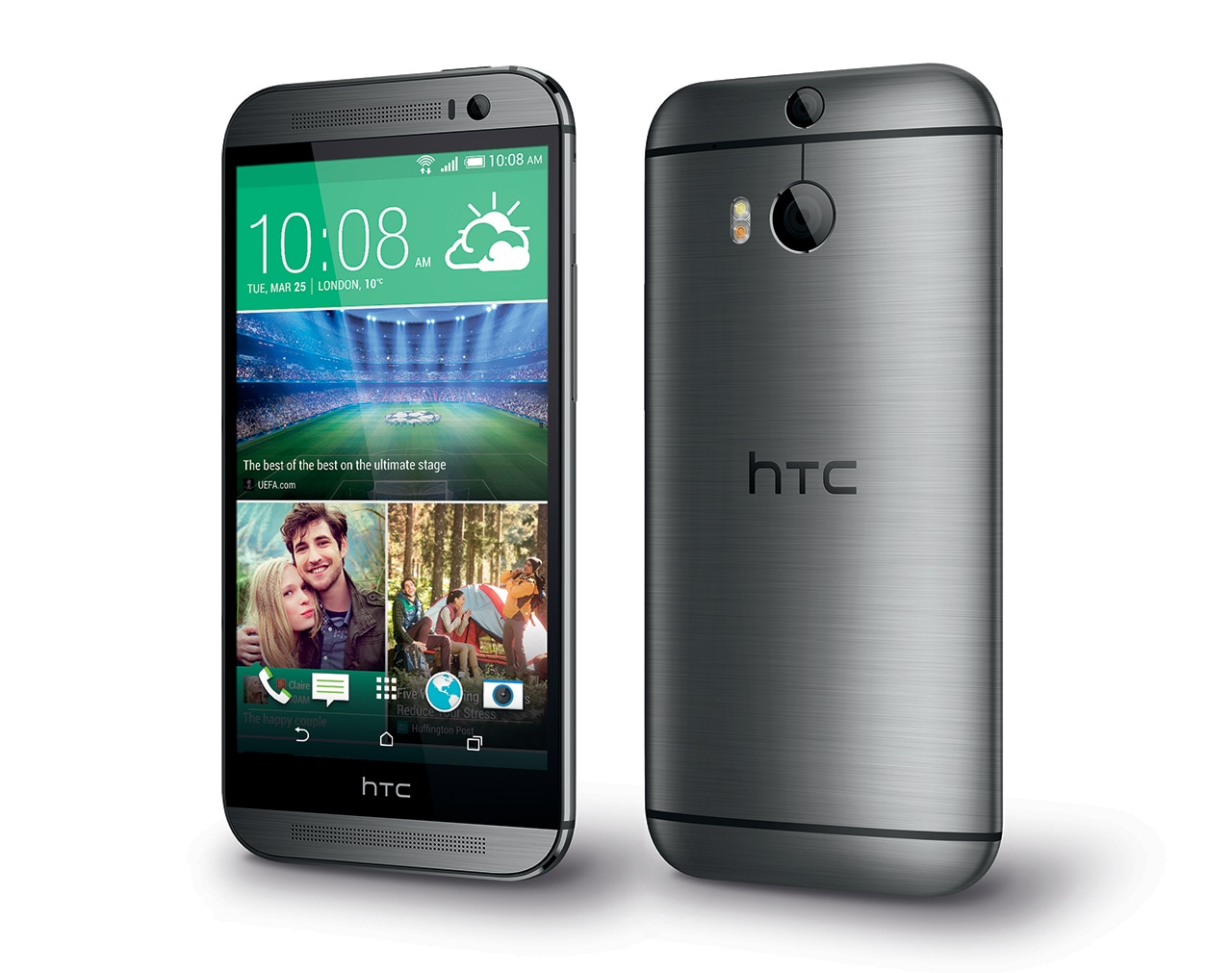 HTC One M8_PerLeft_GunMetal