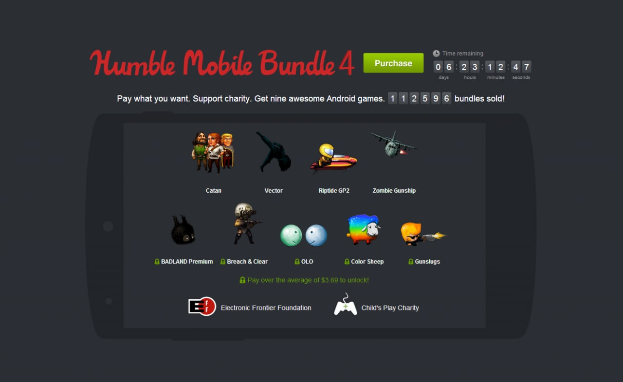 Humble Mobile Bundle 4 update