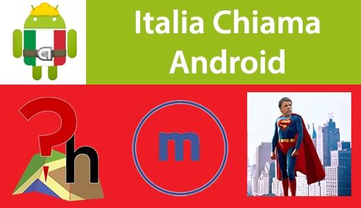 Italia Chiama Android: PlaceHolder, MuzeiBuk, HappyRenzie