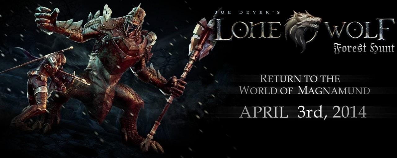 Joe Dever's Lone Wolf: Forest Hunt, il 2° atto del librogame digitale sarà disponibile dal 3 aprile (video)