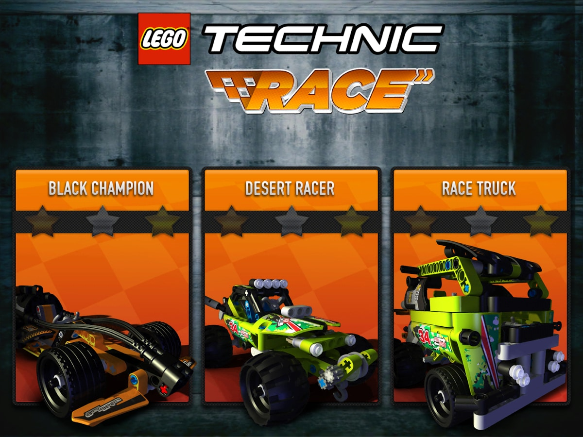 LEGO Technic Race Header