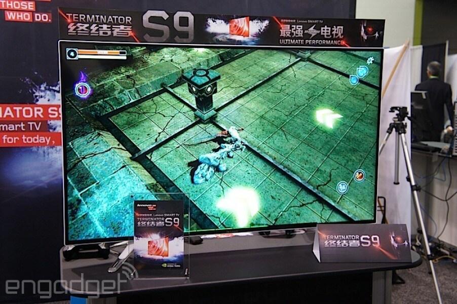 Lenovo Terminator S9, il super TV da 50'' in 4K con Tegra K1 (foto)