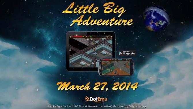 Little Big Adventure: il porting di DotEmu sbarca sul Play Store (foto e video)