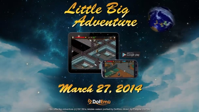Little Big Adventure Header