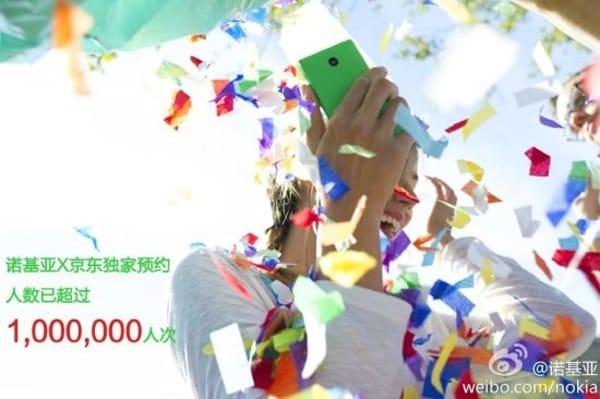 Nokia X totalizza un milione di pre-ordini in Cina