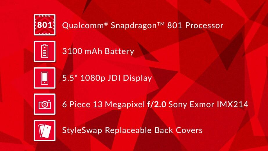 """OnePlus One """"si aggiorna"""" con Snapdragon 801"""