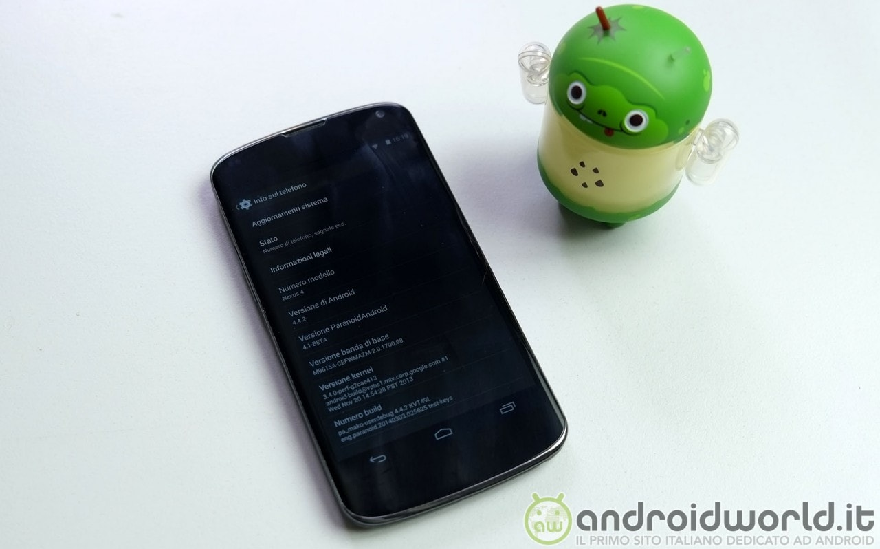 Paranoid Android 4.1 Beta