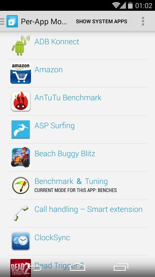 Per-App Modes 6