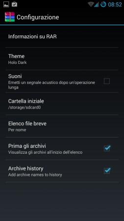 RAR Android 3