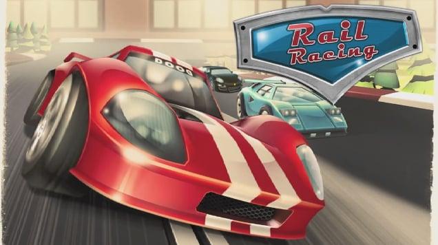 Rail Racing Header