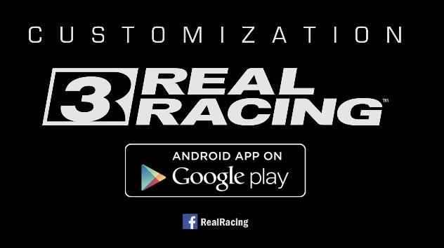 Real Racing 3 Customizazion update