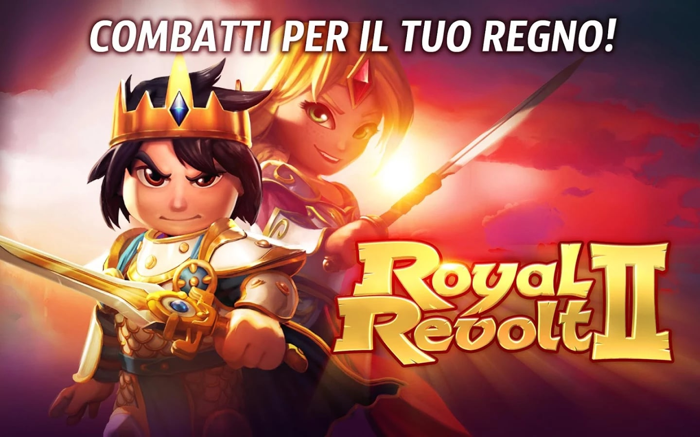 Royal Revolt 2 Header