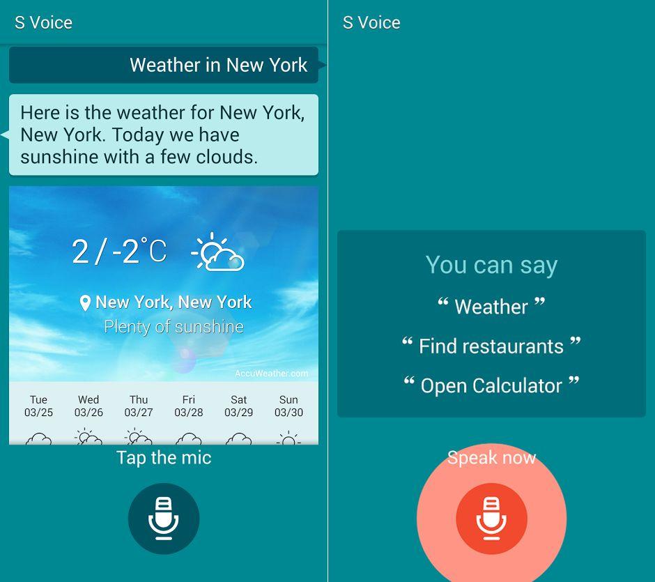 S Voice di Samsung Galaxy S5 trapela in rete (download apk)