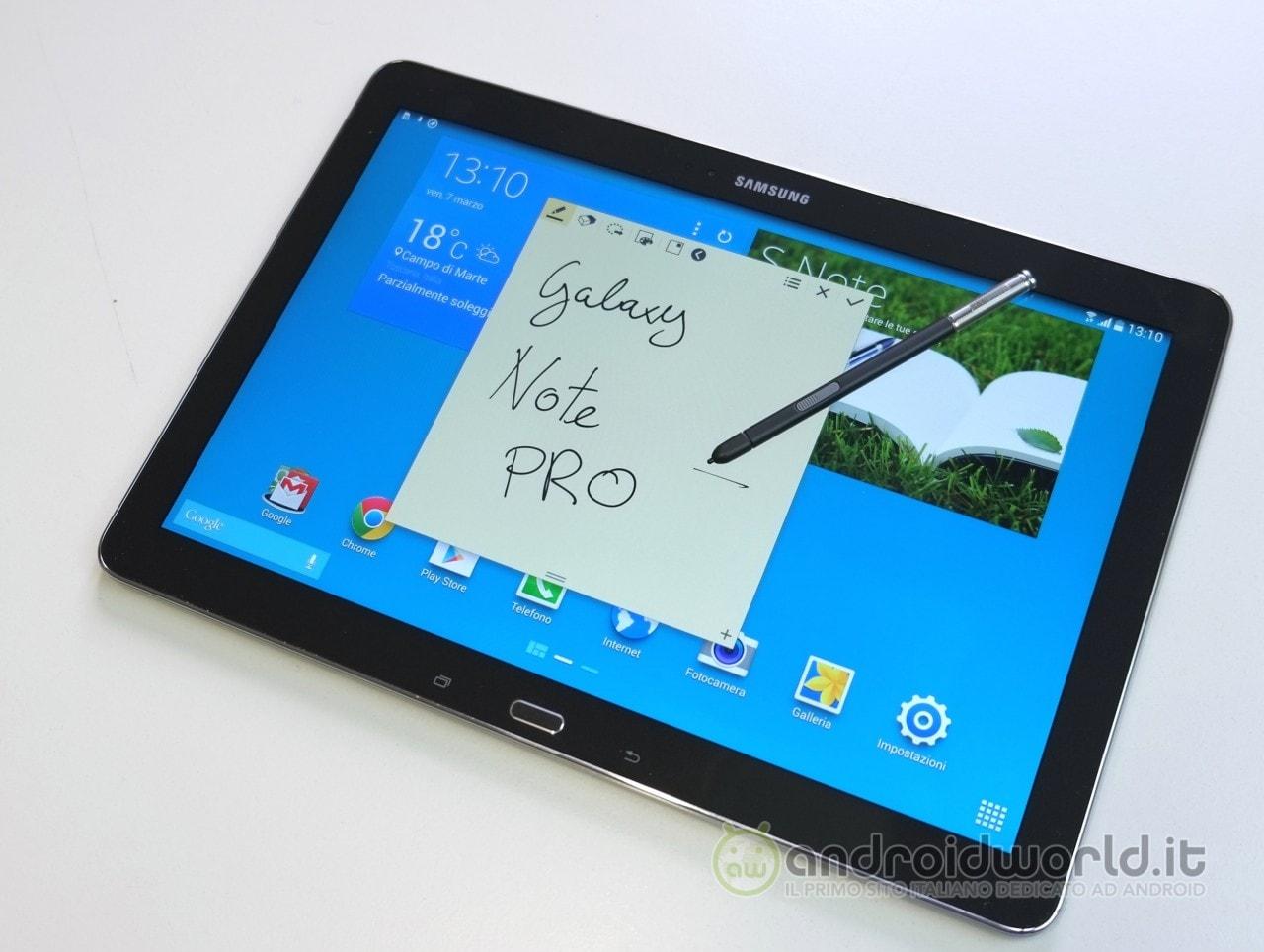 Samsung al lavoro su nuovi tablet della serie Galaxy Tab e Galaxy Note (PRO)