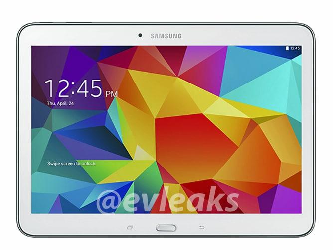Samsung Galaxy Tab 4 10.1: ecco un primo render