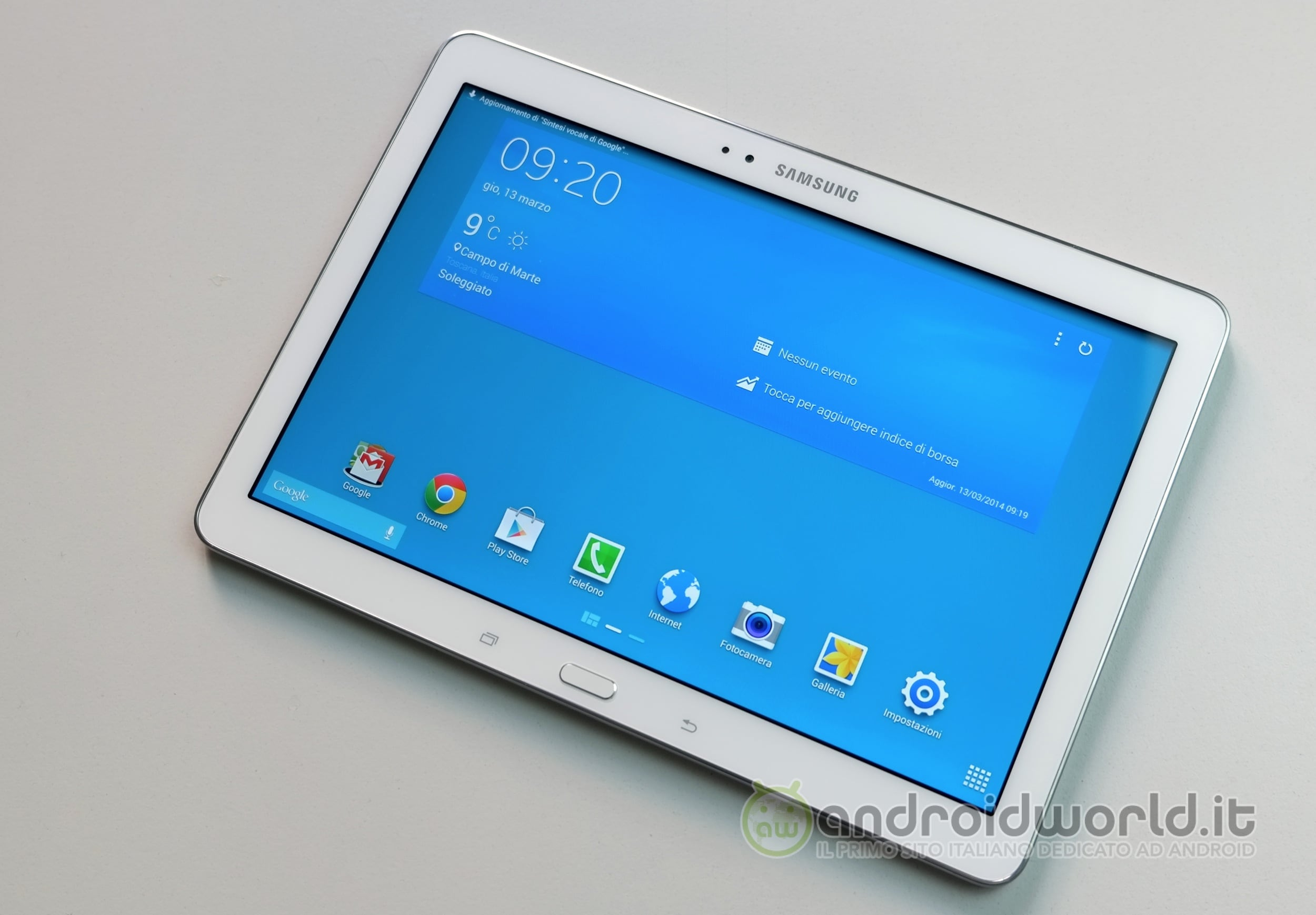 Samsung Galaxy Tab PRO 10.1, la recensione (foto e video) | Foto 1 di 5
