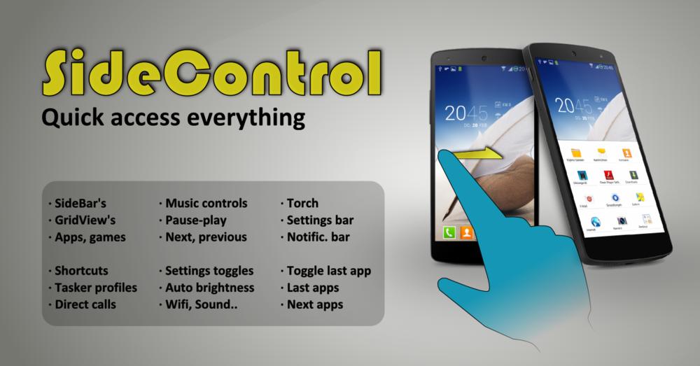 SideControl porta nuove possibilità attraverso le gesture (foto)