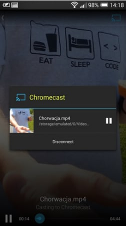 Solid Explorer Chromecast