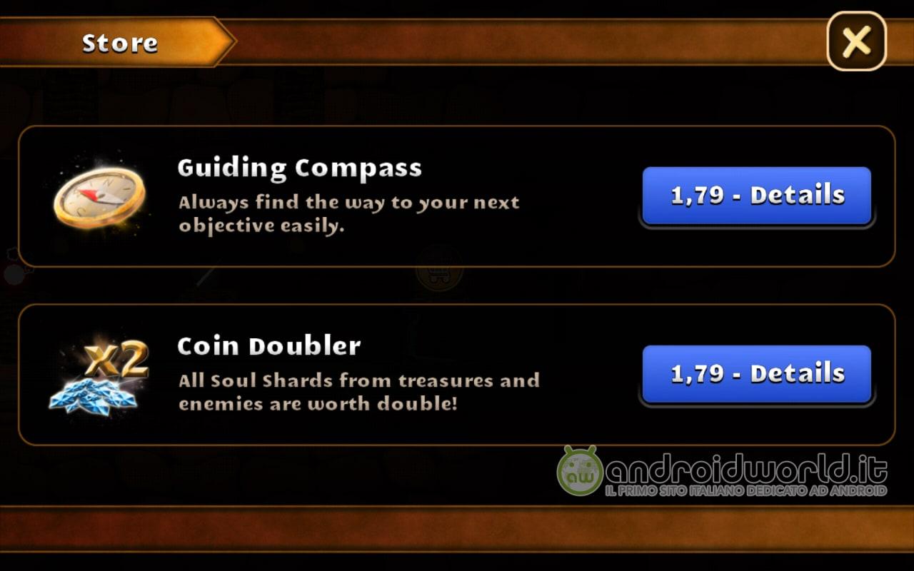 Swordigo si aggiorna ed introduce gli acquisti in-app