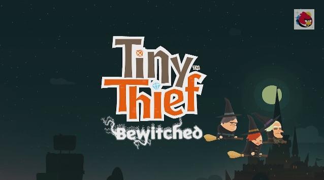 Tiny Thief si aggiorna con il pacchetto di livelli Bewitched acquistabile per 1,70€ (video)
