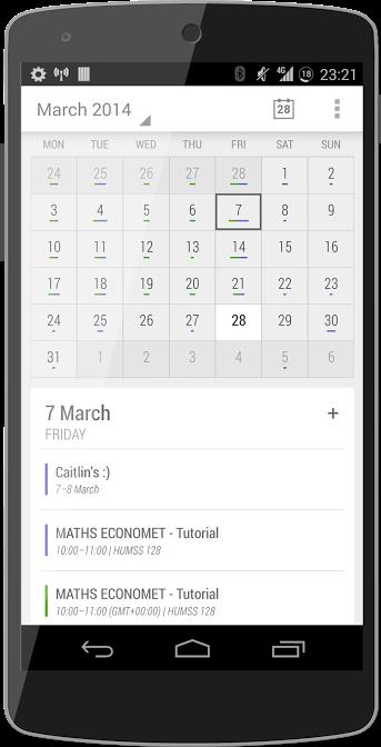 Today Calendar 2