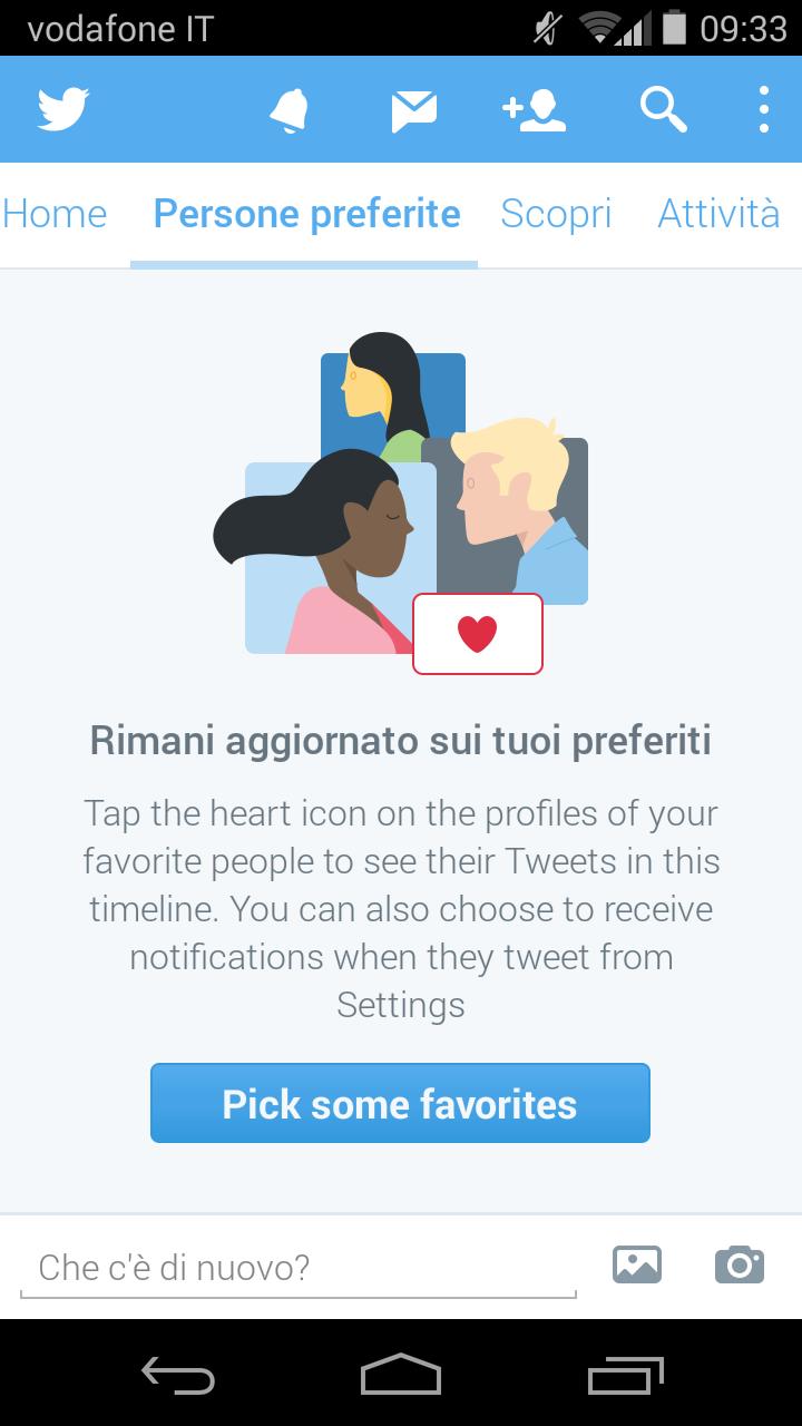 Twitter preferiti