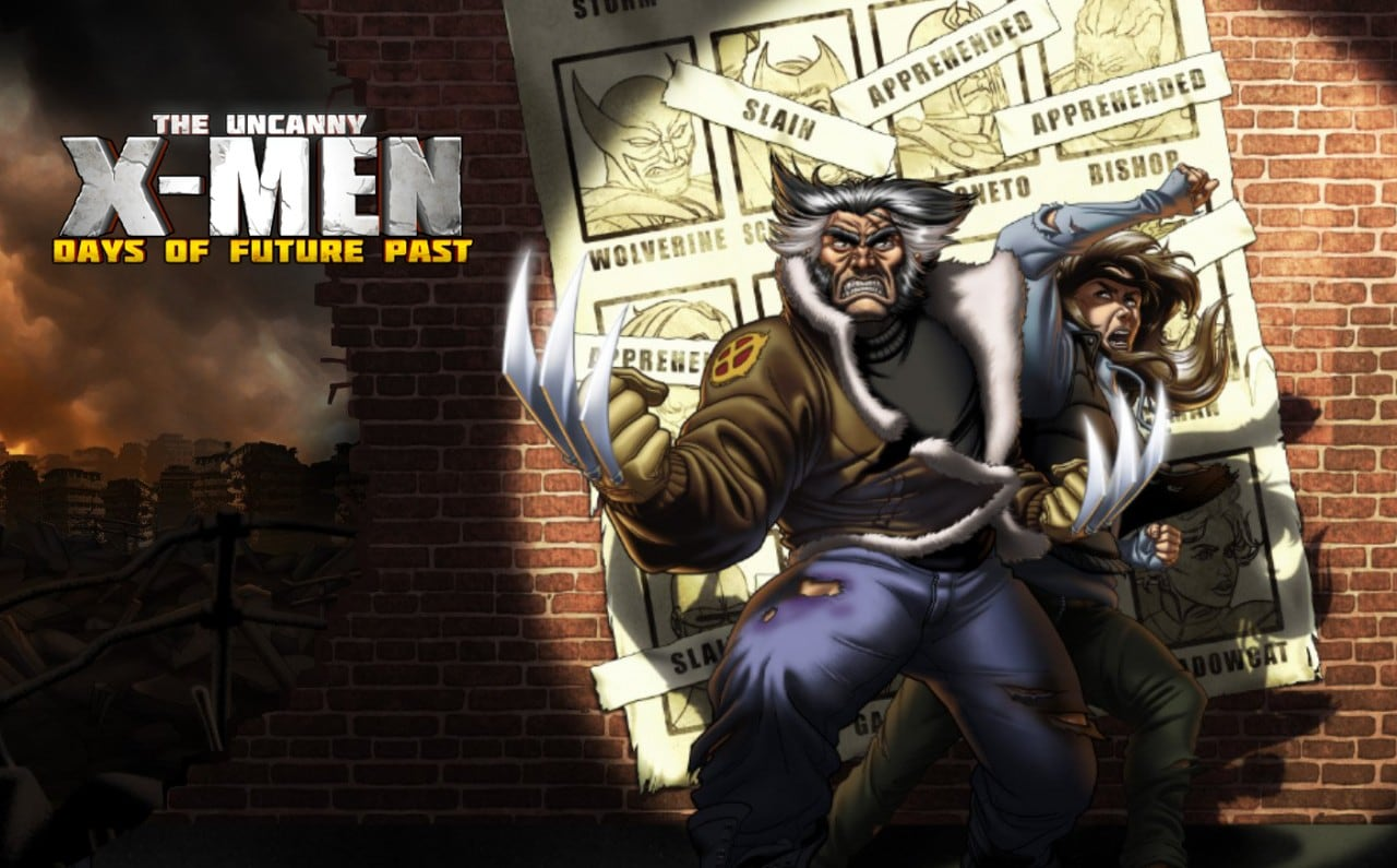 X-Men Days of Future Past Header