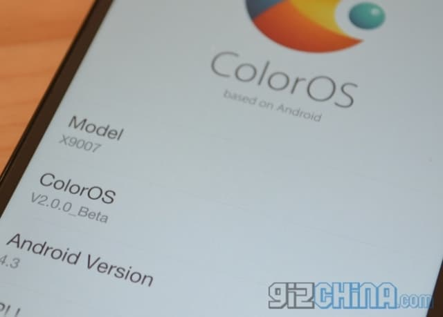 color OS 2 1
