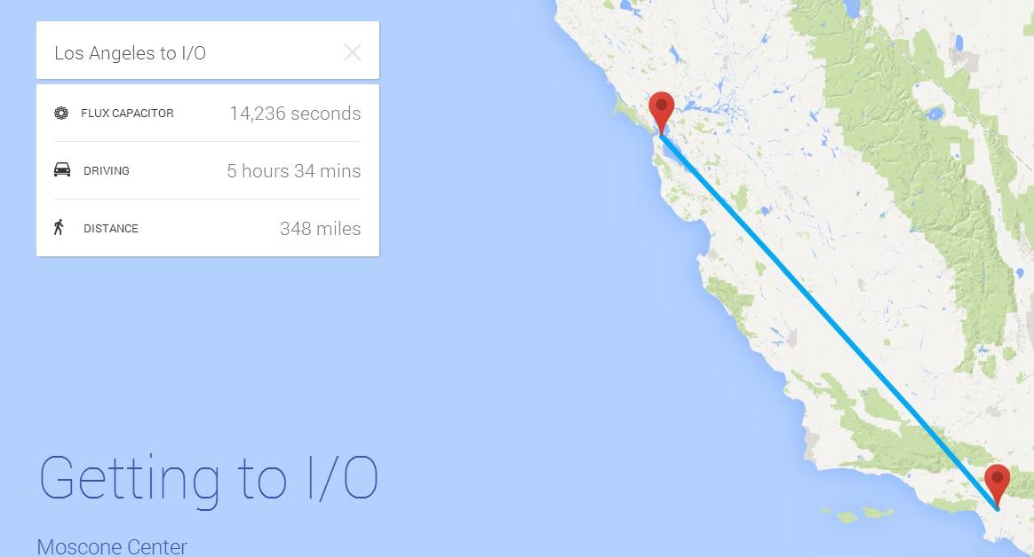 Ecco gli easter egg presenti sul sito del Google I/O 2014
