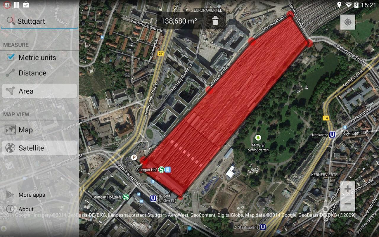 Misuriamo distanze ed aree su Google Maps, con Maps Measure