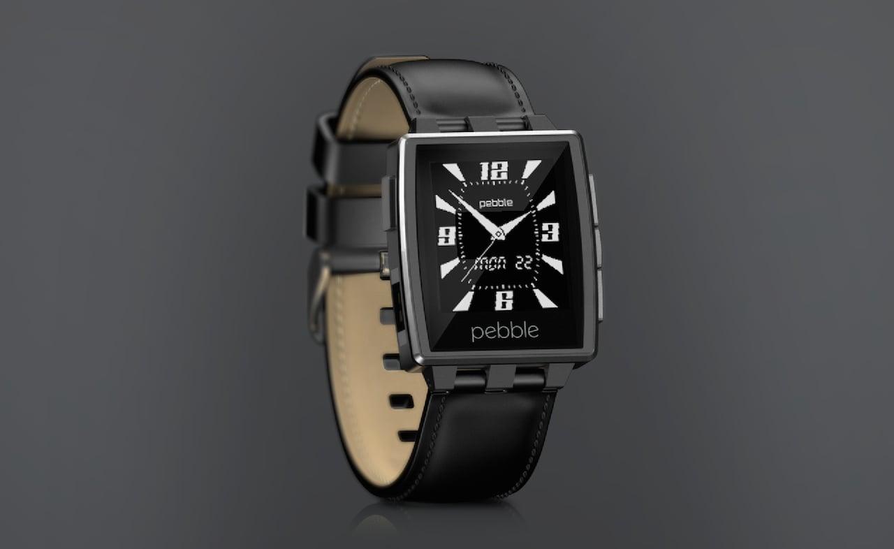 pebble steel leather
