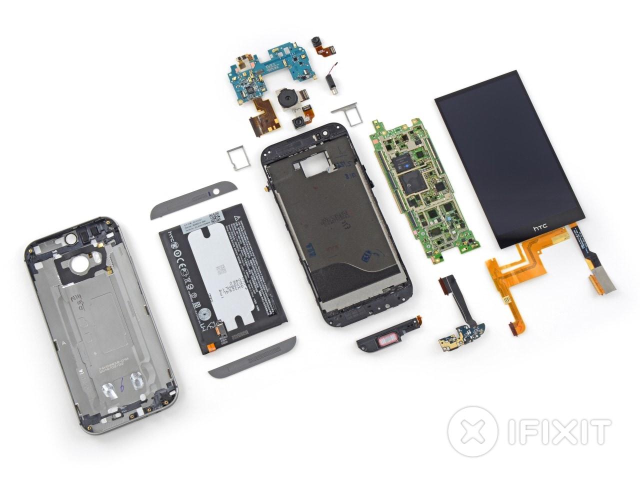 teardown HTC One (M8)