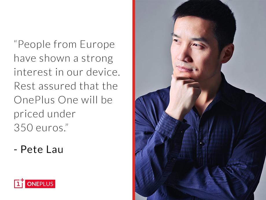 OnePlus One in Europa a meno di 350€