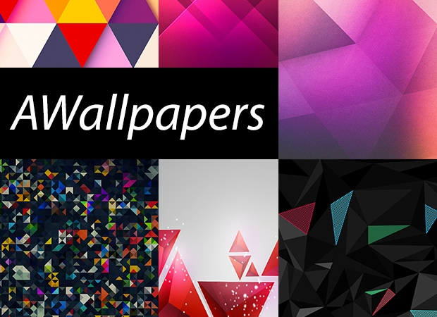 AWallpapers triangolari