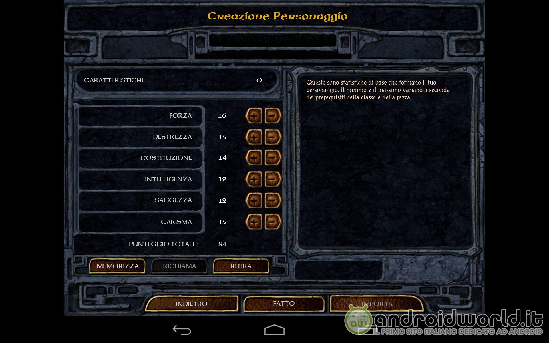 Baldur's Gate Enhanced Edition Android (2)