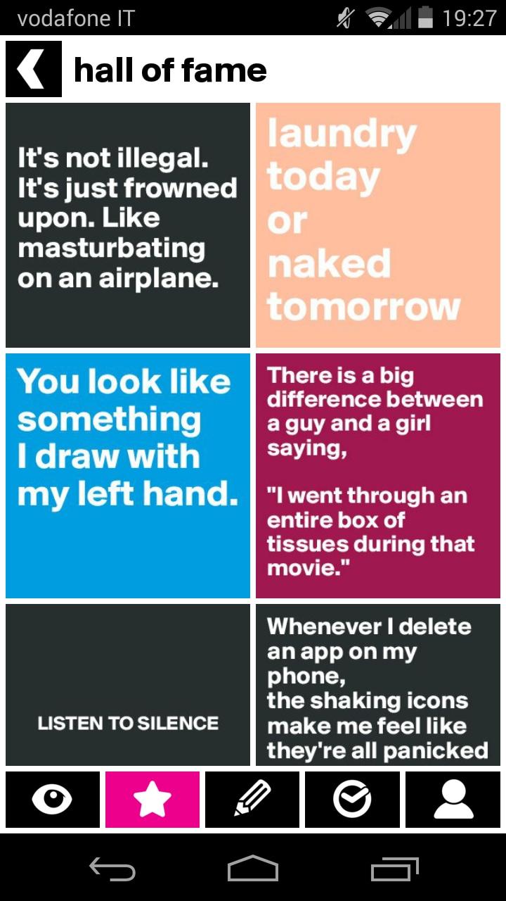 Boldomatic, un nuovo social network per mettere in mostra i vostri più arguti aforismi